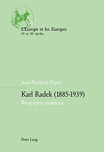 9783906770314: Karl Radek (1885-1939): Biographie Politique