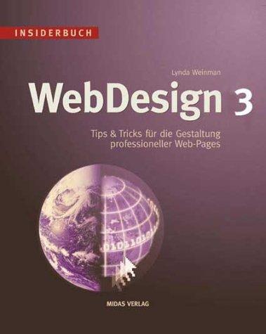 Insiderbuch WebDesign 3. (3907020987) by Weinman, Lynda