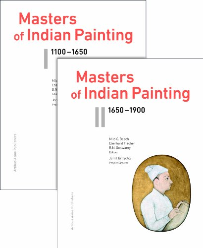 9783907077504: Masters of Indian Painting 1100-1900(2 vol set) (Supplementum)