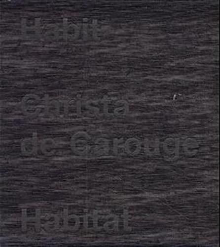 9783907078150: Habit-Habitat: Christa de Carouge