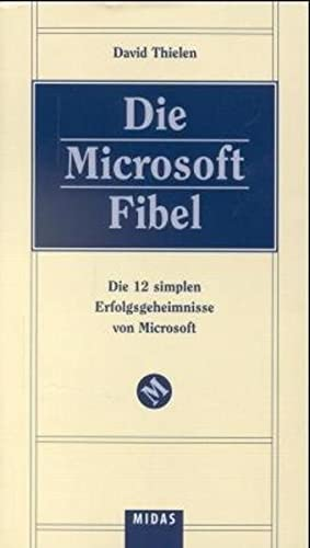 9783907100288: Die Microsoft Fibel