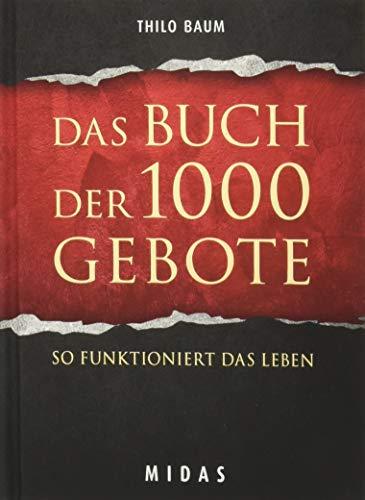 9783907100660: Das Buch der 1000 Gebote