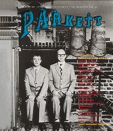 9783907509647: Parkett No. 14 Gilbert & George (Parkett Series)