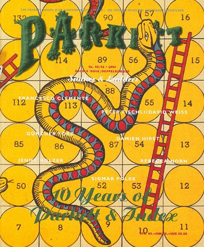 Parkett No. 40/41 Snakes & Ladders: curiger Bice; G.