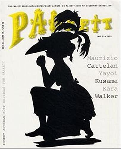 9783907582091: Parkett No. 59 Maurizio Cattelan, Yayoi Kusama, Kara Walker (Vol 59)