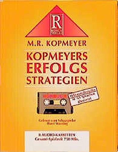 9783907595145: Kopmeyers Erfolgsstrategien, 8 Cassetten