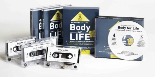 Body for Life, 4 Cassetten (3907595882) by Bill Phillips