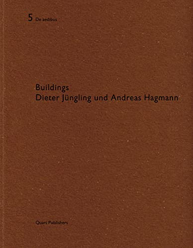 Dieter Jungling und Andreas Hagmann: De Aedibus 5 (English and German Edition): QUART ARCHITEKTUR