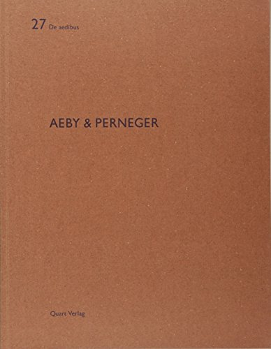 9783907631966: Aeby & Perneger