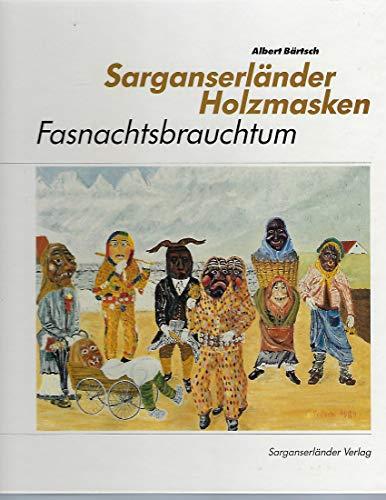 Sarganserländer Holzmasken Bärtsch, Albert