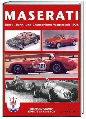 9783908007791: Maserati. Sport-, Renn- und Granturismo-Wagen 1926-1991