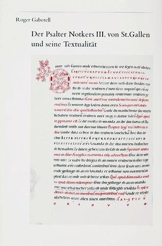 Der Psalter Notkers III. von St. Gallen
