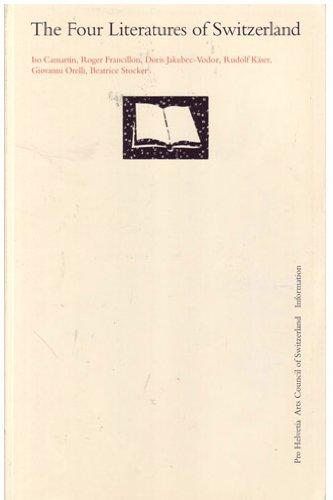 The Four Literatures of Switzerland: Camartin, Iso &
