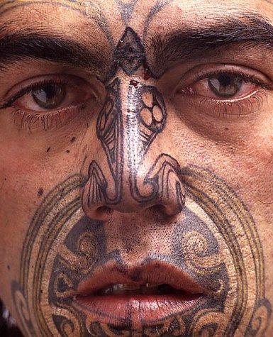 Moko: Maori Tattoos: Neleman, Hans