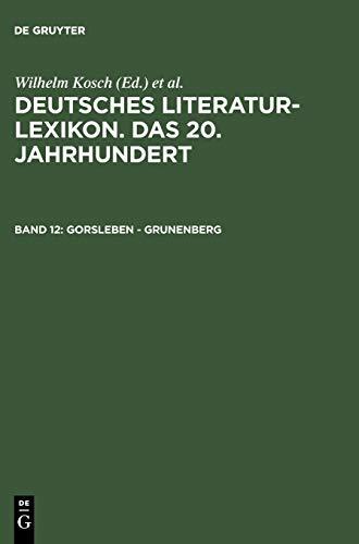 9783908255123: Gorsleben - Grunenberg