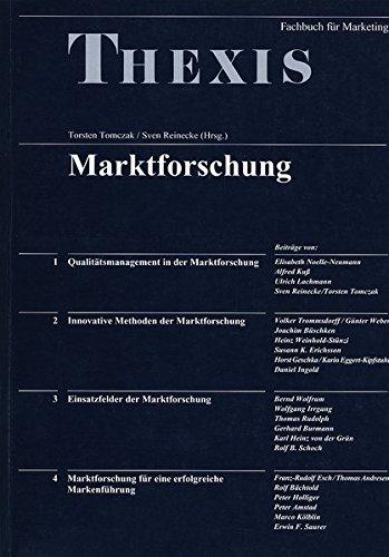 Marktforschung Tomczak, Torsten and Reinecke, Sven