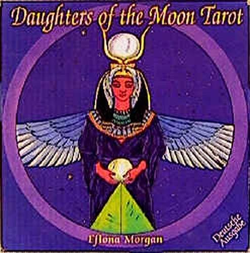 9783908650010: Daughters of the Moon. Tarot. 78 Karten mit Kurzanleitung