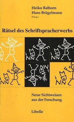 9783909081233: Rätsel des Schriftspracherwerbs.