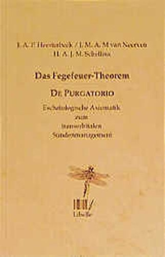 9783909081554: Das Fegefeuer-Theorem - De purgatorio