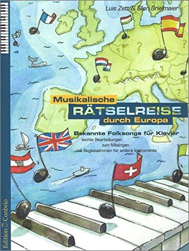 9783909415311: Musikalische Rätselreise durch Europa. Bekannte Folksongs für Klavier