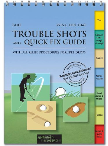 9783909596348: Golf Trouble Shots & Quick Fix Guide: A Practical Guide for Use on the Course