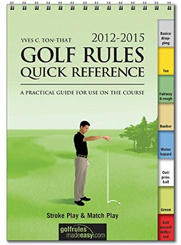 Booklegger Golf Rules Quick Reference Guide: BY (AUTHOR): YVES C TON-THAT
