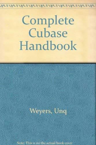 9783910098114: Complete Cubase Handbook