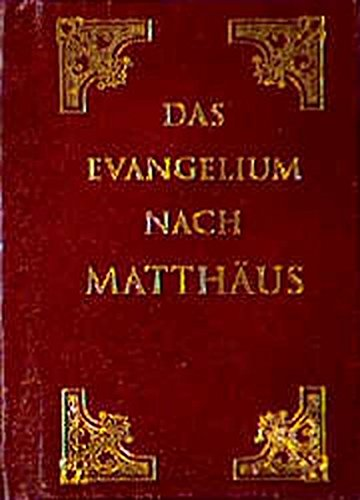 9783910135345: Das Evangelium nach Matth�us by Luther, Martin
