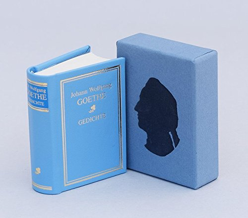 Gedichte - Miniaturbuch: Johann Wolfgang von