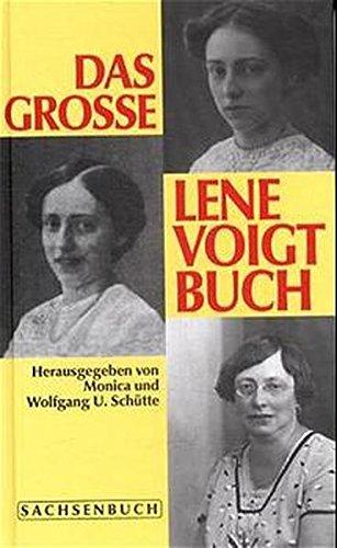 Das grosse Lene Voigt Buch - Schütte, Monica / Schütte, Wolfgang
