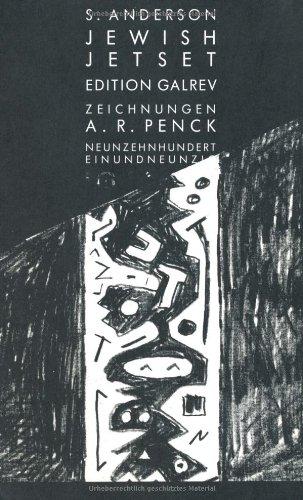Jewish Jetset. Neunzehnhunderteinundneunzig. S/w Abbildungen nach Zeichnungen: Anderson, Sascha