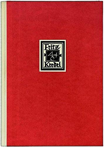 Fritz Kredel: Das buchkunstlerische Werk in Deutschland und Amerika.: Ronald Salter (b. 1938).