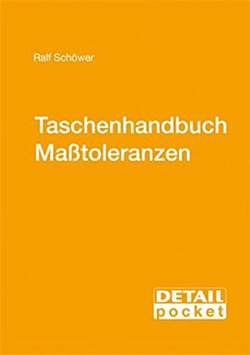 9783920034423: Detail Pocket: Taschenhandbuch Maßtoleranzen