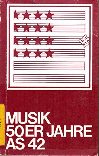 9783920037073: Musik 50er Jahre (Argument-Sonderband) (German Edition)