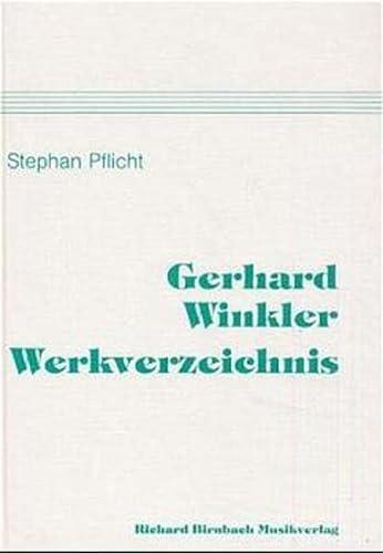 Gerhard-Winkler-Werkverzeichnis: Stephan Pflicht