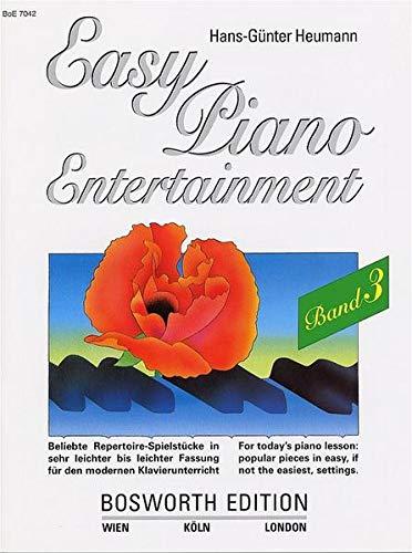 9783920127248: Hans-Gunter Heumann: Easy Piano Entertainment 3