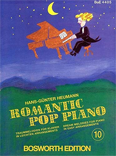 9783920127590: Romantic Pop Piano 10.
