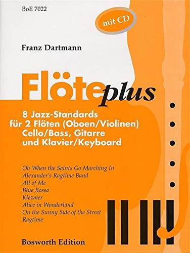 9783920127651: Floete Plus - 8 Jazz Standards