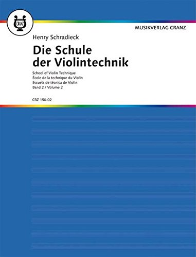 Schradieck: School of Violin Technique, Vol. 2: