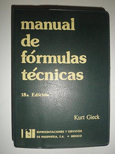 9783920379197: Manual de fórmulas técnicas