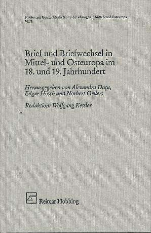 9783920460147: Brief und Briefwechsel in Mittel- und Osteuropa im 18. und 19. Jahrhundert.