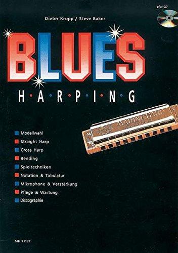 9783920468808: Hohner Blues Harping mit CD