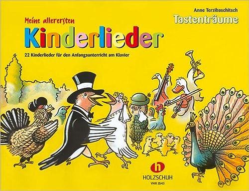 9783920470221: Meine allerersten Kinderlieder: 22 Kinderlieder für den Anfangsunterricht am Klavier. Tastenträume