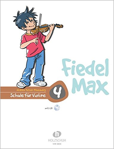 9783920470450: Fiedel Max - Schule für Violine 4 mit CD