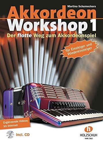 9783920470900: Akkordeon Workshop 1: Der flotte Weg zum Akkordeonspiel