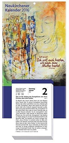 9783920524016: Neukirchener Kalender 2016: Abreißkalender - Block mit 384 Blättern und Rückwand