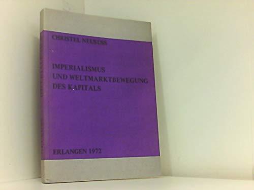 9783920531311: Imperialismus und Weltmarktbewegung des Kapitals