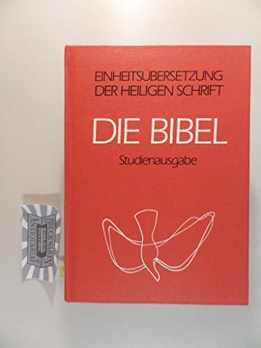 9783920609294: Die Bibel: Studienausgabe : Psalmen und Neues Testament, ökumenischer Text : Einheitsübersetzung der Heiligen Schrift (German Edition)