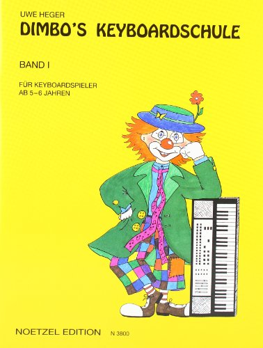 9783920696027: Dimbo's Keyboardschule 1