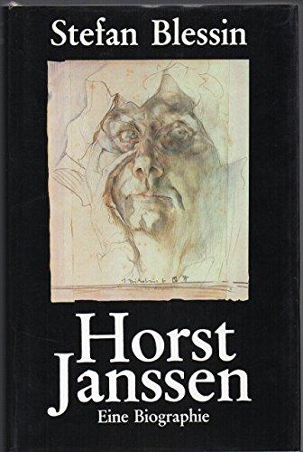 9783920699578: Horst Janssen: Eine Biographie